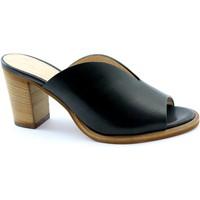 Chaussures Femme Mules Les Venues LES-E20-5725-NE Nero