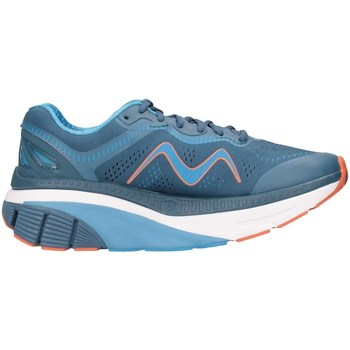 Chaussures Homme Baskets basses Mbt 702013-1278Y Bleu / Orange