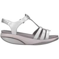 Chaussures Femme Sandales et Nu-pieds Mbt 701001-1299I argent