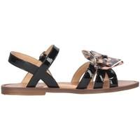 Chaussures Fille Sandales et Nu-pieds Romagnoli 5789-001 Noir