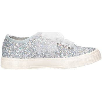 Chaussures Fille Baskets basses Magil Made In Italy UNICHINA argent