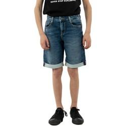 Vêtements Garçon Shorts / Bermudas Le Temps des Cerises jogg 3001 blue bleu