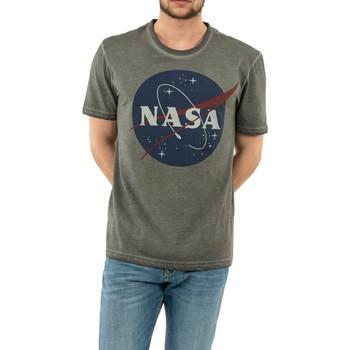 Vêtements Homme T-shirts manches courtes Jeanstation nasa  anthra gris
