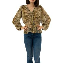 Vêtements Femme Chemises / Chemisiers Morgan 201-clea.f ficelle/lemon jaune