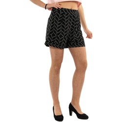 Vêtements Femme Shorts / Bermudas Molly Bracken g718bp20 leaves black noir