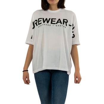 Vêtements Femme T-shirts manches courtes Gertrude + Gaston giulia optic white blanc