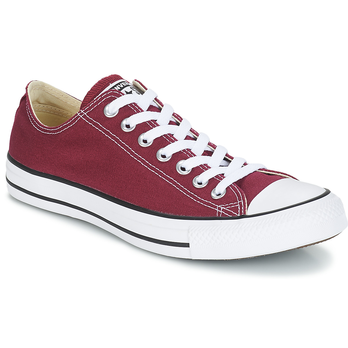 CONVERSE ALL STAR CUIR MARRON T36 UK 35