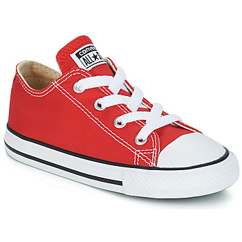 Chaussures Enfant Baskets basses Converse CHUCK TAYLOR ALL STAR CORE OX  Rouge 8eb6f0b73bc