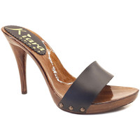 Chaussures Femme Mules Kiara Shoes KM7202 Noir