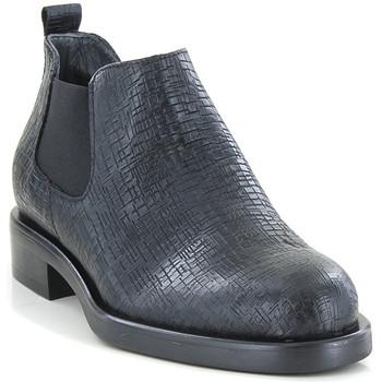 Chaussures Femme Boots Lilimill 6703 VIENNA NERO