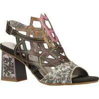 Chaussures Femme Sandales et Nu-pieds Laura Vita HACKIO 04 Noir