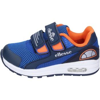 Chaussures Garçon Baskets basses Ellesse sneakers textile bleu