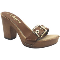 Chaussures Femme Mules Kiara Shoes K36 Marron