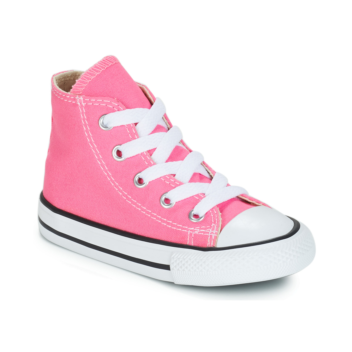 b0d4b1609d826 Chaussures Fille Baskets montantes Converse CHUCK TAYLOR ALL STAR CORE HI  Rose