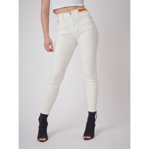 Le moins cher Jean  Project X Paris  jeans skinny  femme  blanc