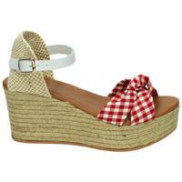 Chaussures Femme Sandales et Nu-pieds Popa  Blanc