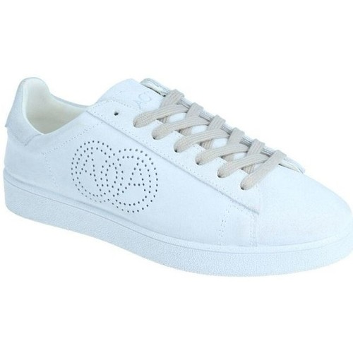 Chaussures Baskets mode Amoa Sneackers Martita à lacets BLANC