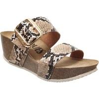 Chaussures Femme Mules K. Daques CULIP Beige