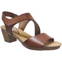 Chaussures Femme Sandales et Nu-pieds Xapatan 1088 Marron moyen cuir