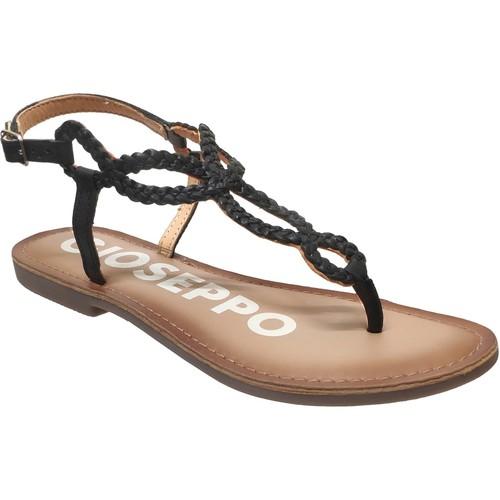 Chaussures Femme Sandales et Nu-pieds Gioseppo Fyffe Noir cuir