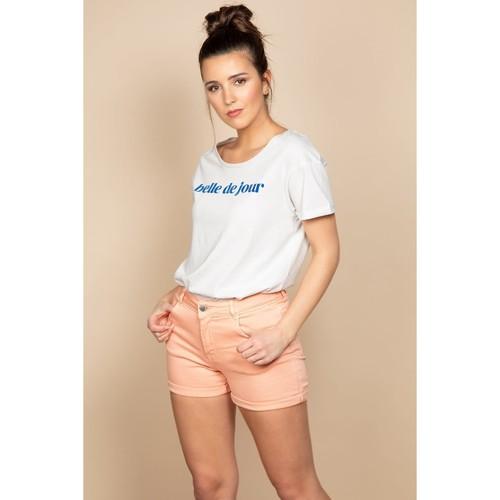 Le moins cher Short CERISE  Deeluxe  shorts / bermudas  femme  light corail