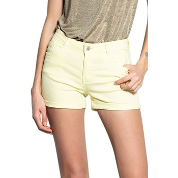 Vêtements Femme Shorts / Bermudas Deeluxe Short CERISE Sweet Yellow