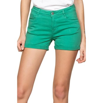 Vêtements Femme Shorts / Bermudas Deeluxe Short CERISE Green