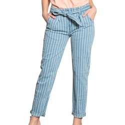 Vêtements Femme Chinos / Carrots Deeluxe Jean LUCIA Striped Denim