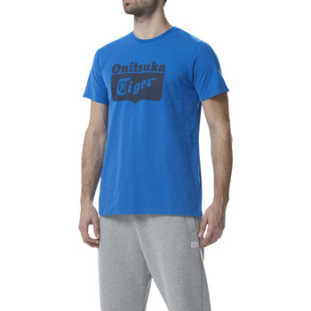 Vêtements Homme T-shirts manches courtes Onitsuka Tiger Logo tee Direction Blue