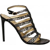 Chaussures Femme Sandales et Nu-pieds Ororo CAMOSCIO nero