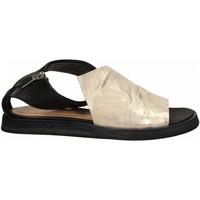 Chaussures Femme Sandales et Nu-pieds Salvador Ribes METAL PARKER + MATRIX panna-nero