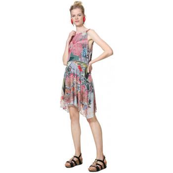 Vêtements Femme Robes courtes Desigual Robe femme 19SWVK79 Lucille gris argent (rft)