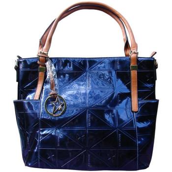 Sacs Femme Sacs porté main Thierry Mugler Sac Caprice 3 Bleu Nuit Bleu