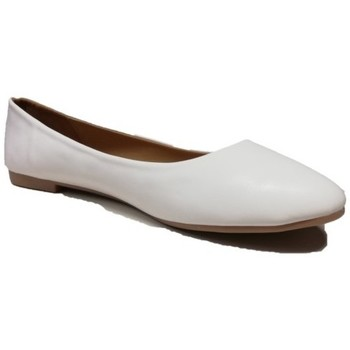 Chaussures Femme Ballerines / babies Cendriyon Ballerines Blanc Chaussures Femme Blanc