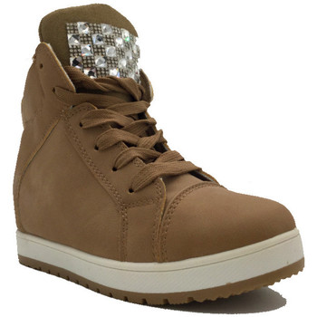 Chaussures Femme Baskets montantes Cendriyon Baskets Kaki Chaussures Femme Kaki