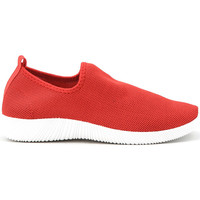 Chaussures Femme Baskets mode Cendriyon Baskets Rouge Chaussures Femme Rouge