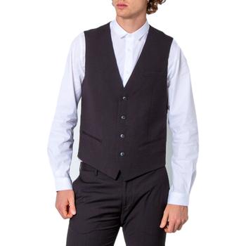 Vêtements Homme Gilets de costume Antony Morato MMVE00088-FA600104 Noir