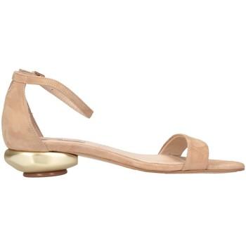 Chaussures Femme Sandales et Nu-pieds Tsakiris Mallas 608 NASIA 6-1 beige