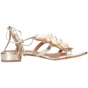 Chaussures Femme Sandales et Nu-pieds Tsakiris Mallas 603 CELIA 6-1 or
