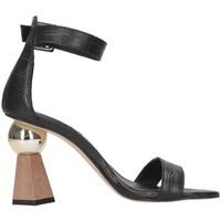 Chaussures Femme Sandales et Nu-pieds Tsakiris Mallas 798 ATOMIUM 6-1 Noir