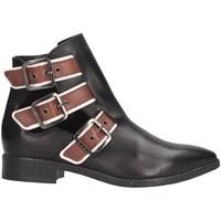 Chaussures Femme Low boots Sisley 8G9LW3273 Bottes et bottines Femme Noir Noir