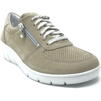 Chaussures Femme Baskets basses Longo 1022132 BEIGE