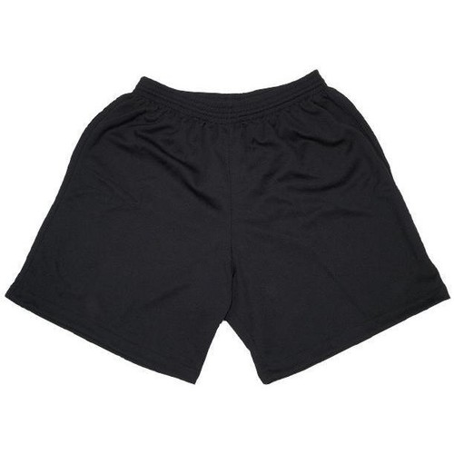 Vêtements Homme Shorts / Bermudas Tremblay Poly noir uni short foot Noir