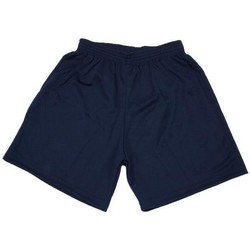 Vêtements Homme Shorts / Bermudas Tremblay Poly navy uni short foot Bleu marine / bleu nuit