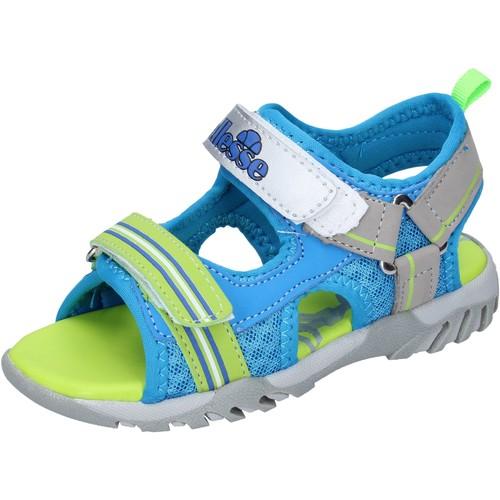 Chaussures Garçon Sandales et Nu-pieds Ellesse sandales cuir synthétique bleu