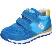 Chaussures Garçon Baskets basses Enrico Coveri sneakers textile bleu clair