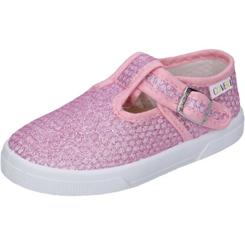 Chaussures Fille Baskets basses Enrico Coveri sneakers textile rose