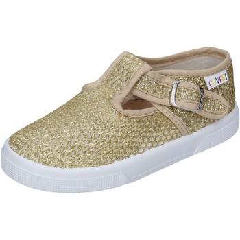 Chaussures Fille Derbies Enrico Coveri sneakers textile doré