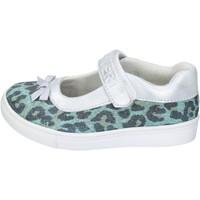 Chaussures Fille Ballerines / babies Enrico Coveri ballerines textile vert
