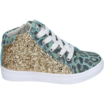 Chaussures Fille Baskets mode Enrico Coveri sneakers glitter vert
